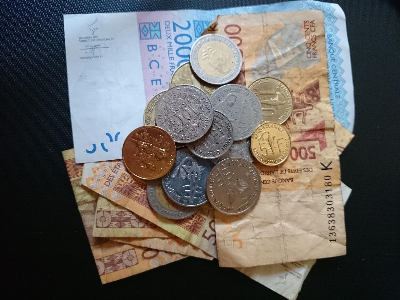日本の5分の1!? セネガルの相場と通貨