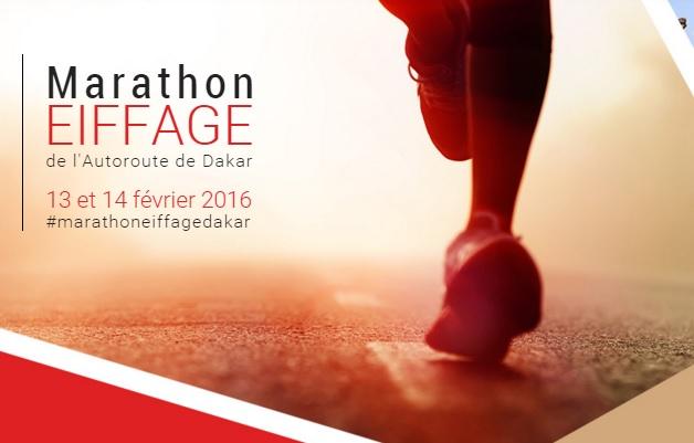 ダカールマラソン、始まる。marathon dakar in Senegal 2016